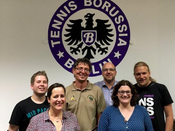 Der neu gewählte Aufsichtsrat von Tennis Borussia