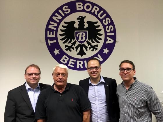 Der Vorstand von Tennis Borussia