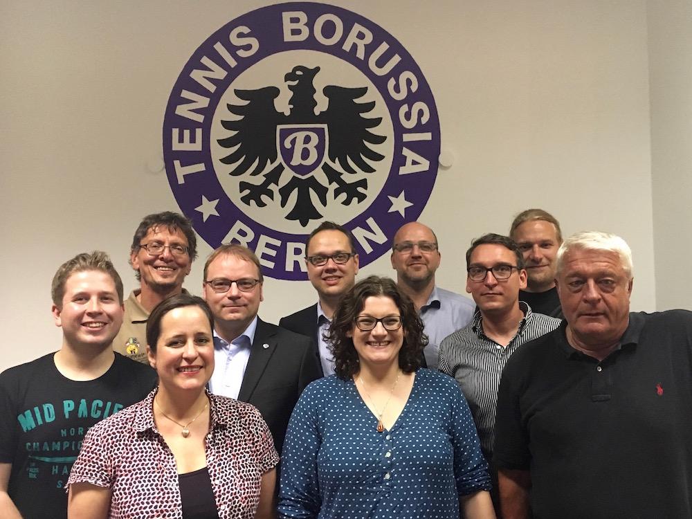 Vorstand und Aufsichtsrat von Tennis Borussia