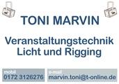 Toni Marvin </br> Veranstaltungstechnik