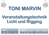 Toni Marvin Veranstaltungstechnik